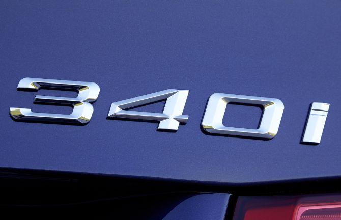 Шильдик BMW 340i F30 3 Series