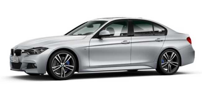 BMW 318i F30 3 Series - тех характеристики