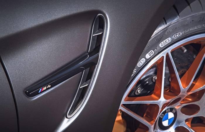 Жабра BMW M4 GTS F82