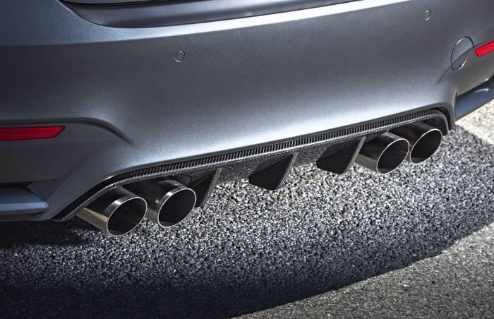 Задний диффузор BMW M4 GTS F82