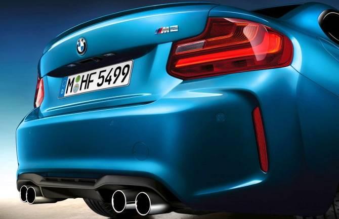 Задняя мощная часть BMW M2 F87