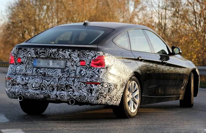 Рестайлинг BMW 3GT F34 3-й серии 2016