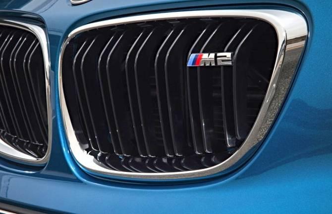 Решетка радиатора BMW M2 F87