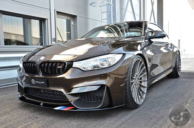Тюнинг BMW M4 F82 в Pyrite Brown DS Automobiles - 1