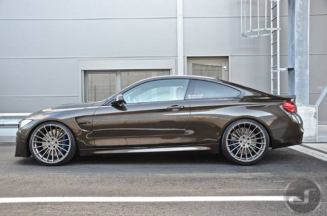 Тюнинг BMW M4 F82 в Pyrite Brown DS Automobiles - 10