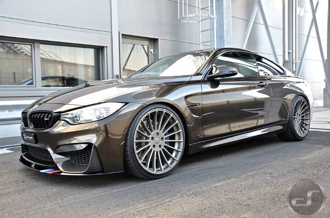 Тюнинг BMW M4 F82 в Pyrite Brown DS Automobiles - 12