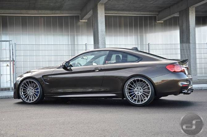 Тюнинг BMW M4 F82 в Pyrite Brown DS Automobiles - 3