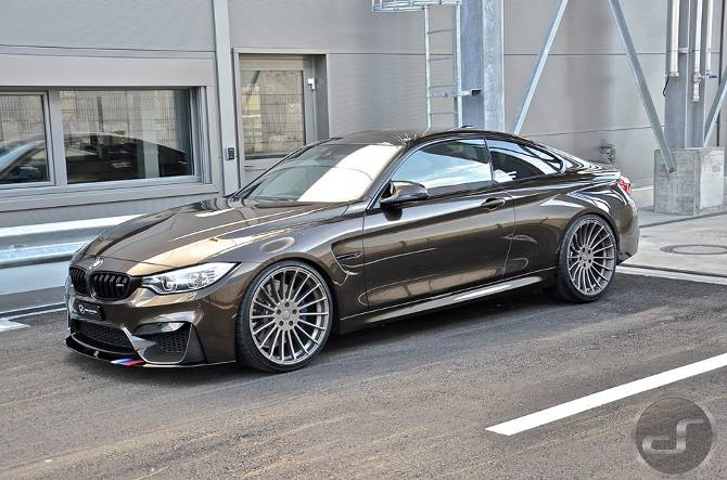 Тюнинг BMW M4 F82 в Pyrite Brown DS Automobiles - 9