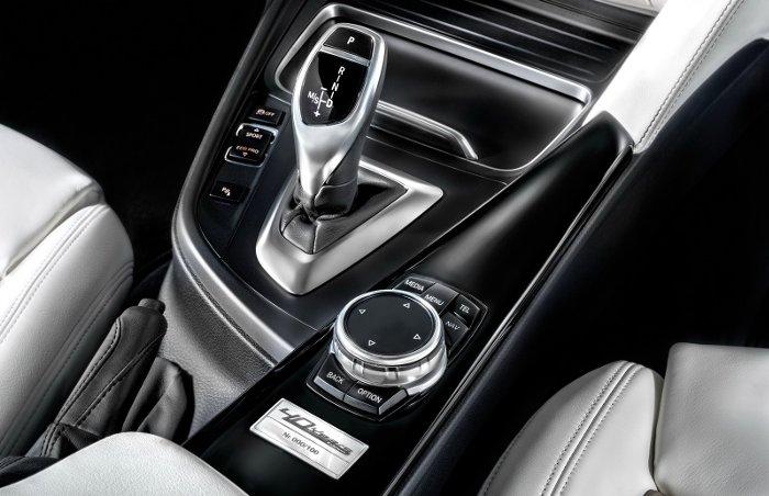 Центральная консоль BMW F31 40 Years Edition для Италии