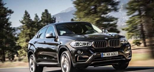 BMW X6 xDrive35i F16-параметры-фото