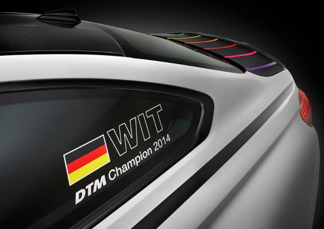 Идентификация BMW M4 DTM Champion Edition F82