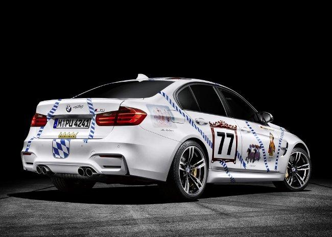 Фото седана BMW M3 Munchner Wirte F80