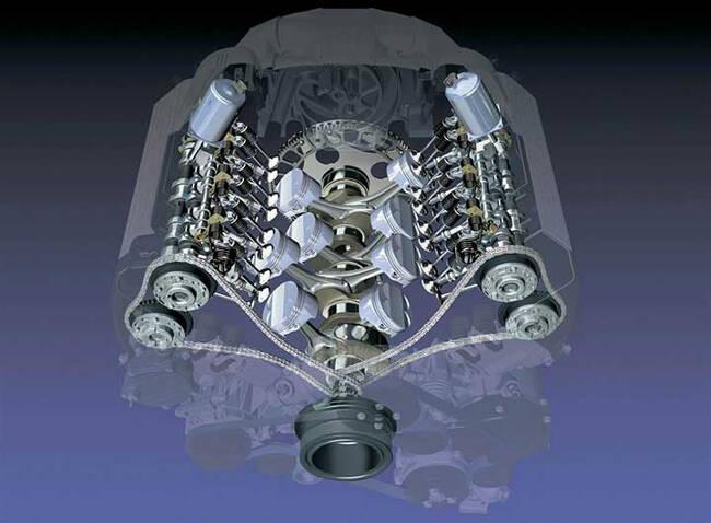 Двигатель N62 с Valvetronic
