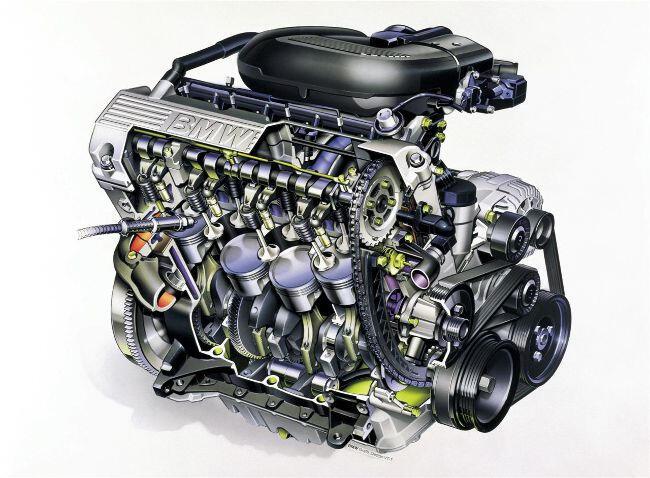 Фото двигателя BMW М43 - 4