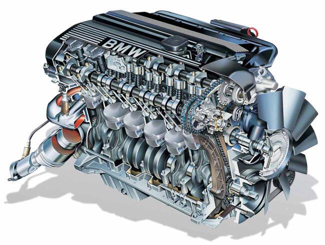 Фото двигателя BMW М52 - 2