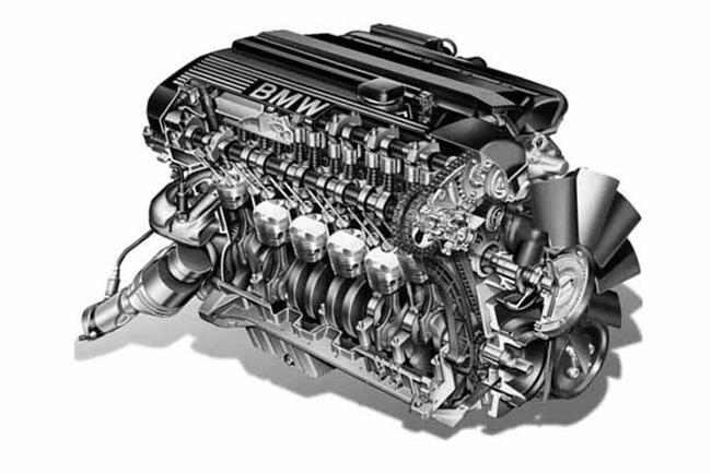 Фото двигателя BMW М54 - 3