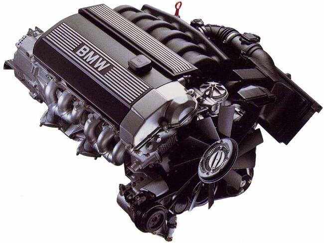 Фото двигателя BMW 728i E38 - M52