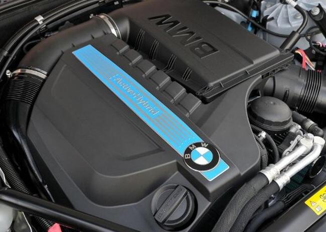 Фото двигателя BMW ActiveHybrid 5 - N55B30