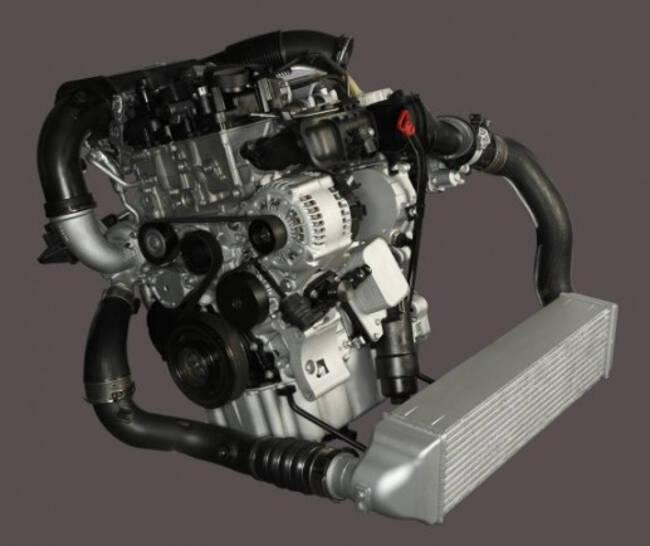 Фото двигателя BMW B37 объемом в 1,5 литра