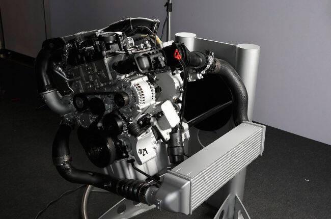 Фото двигателя BMW B37 - 1