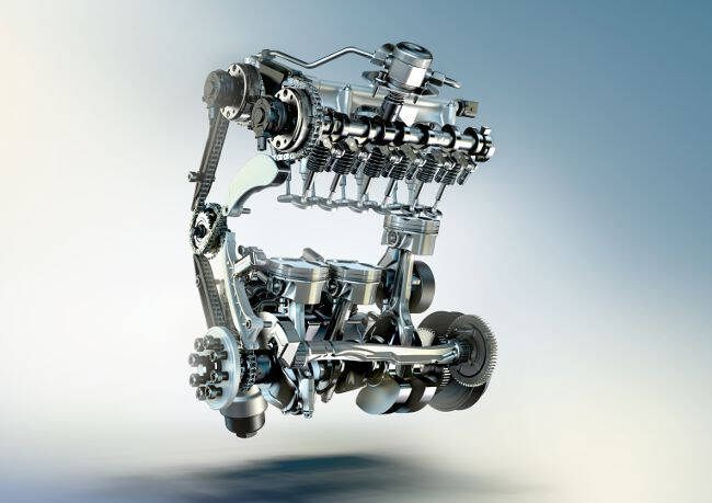 Фото двигателя BMW B37 - 2