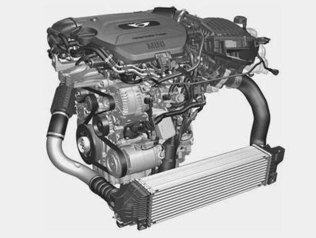 Фото двигателя BMW B37 - 3