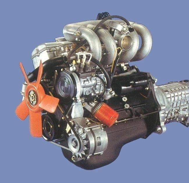 Фото двигателя BMW M10