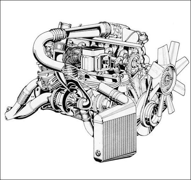 Фото двигателя BMW M106 - 2