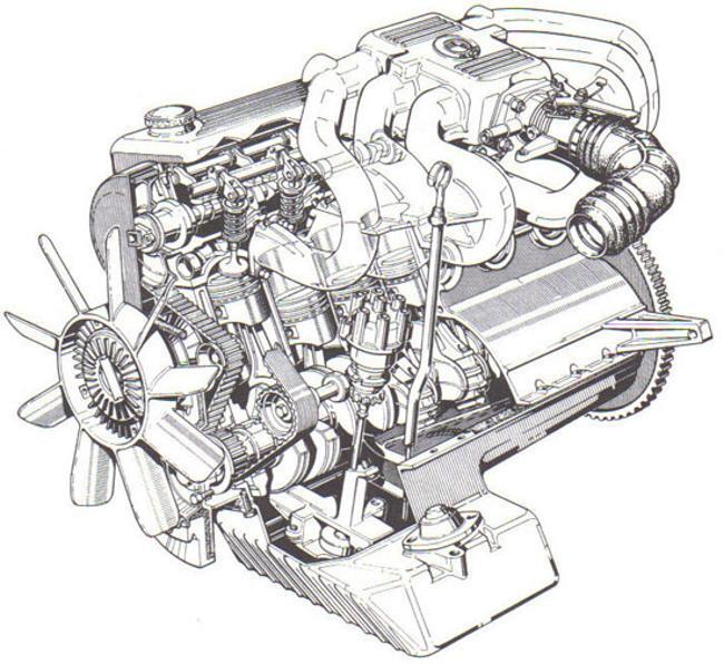 Фото двигателя BMW M20 - 1