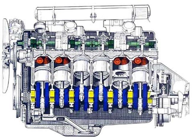 Фото двигателя BMW M30 - 1