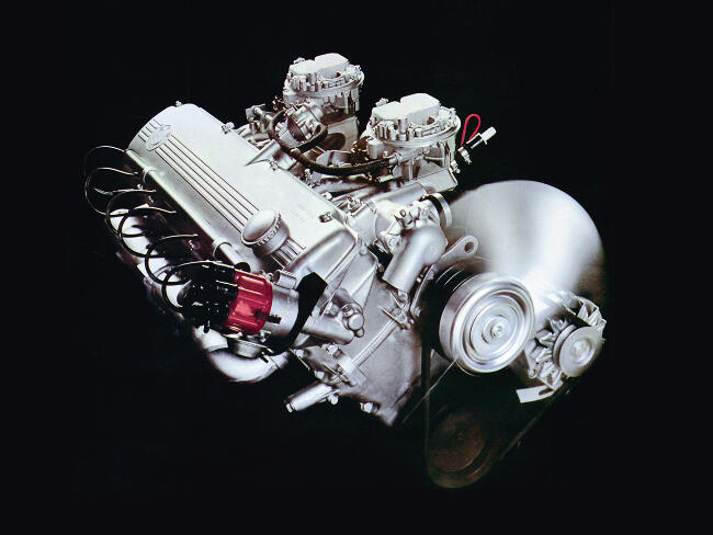 Фото двигателя BMW M30 - 2
