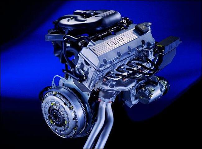 Фото двигателя BMW M43 - 3