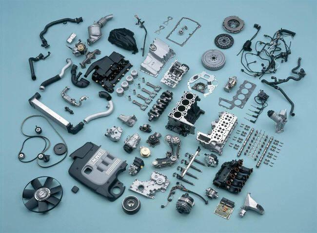Фото двигателя BMW M47 в разборе