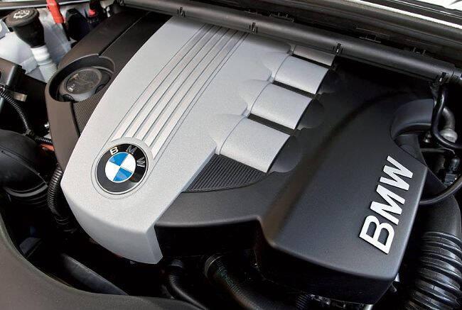 Фото двигателя BMW M47 в 118d