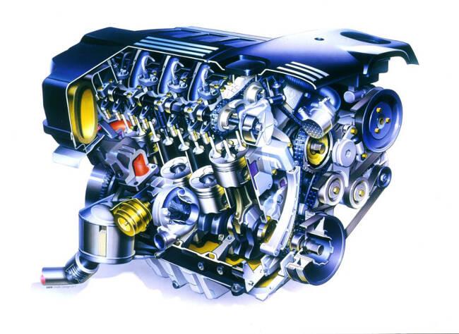 Фото двигателя BMW M47 - 1