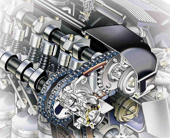 Фото двигателя BMW M52 - Ванос