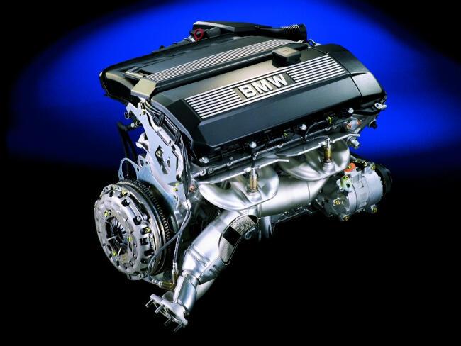 Фото двигателя BMW M52 - 1