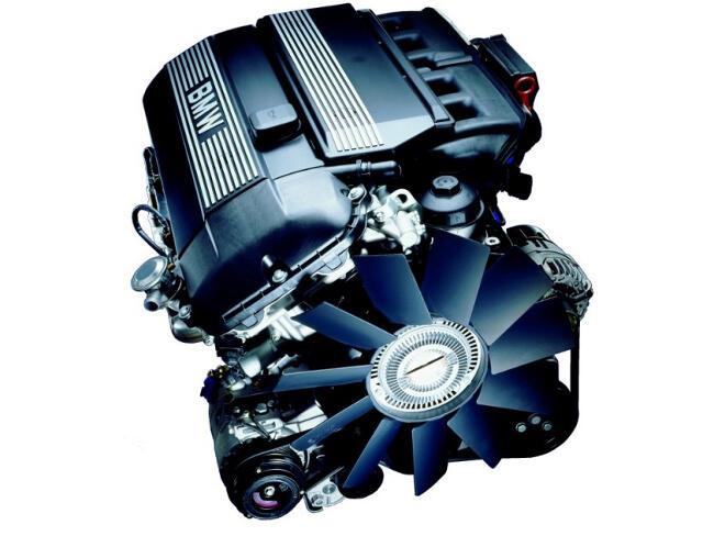 Фото двигателя BMW M54 - 1