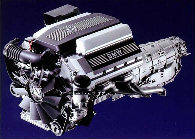 Фото двигателя BMW M60 - 1