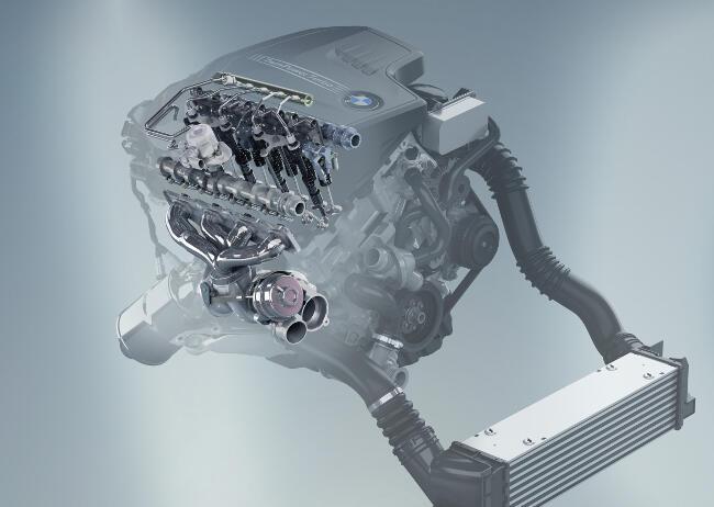 Фото двигателя BMW N13 - 1