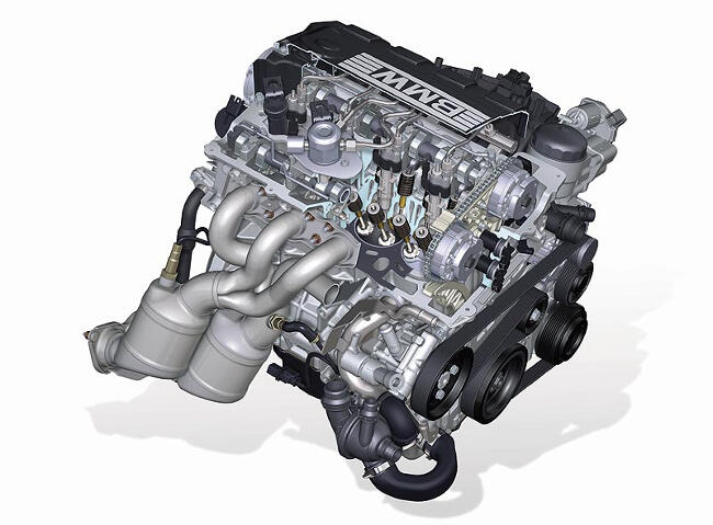 Фото двигателя BMW N43 - 1