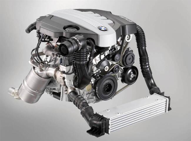 Фото двигателя BMW N47 - D20