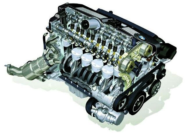 Фото двигателя BMW N51 - 1