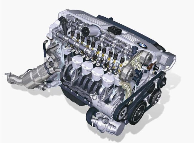 Фото двигателя BMW N52 - 2