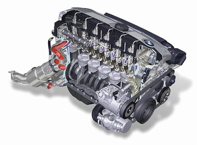 Фото двигателя BMW N53 - 1