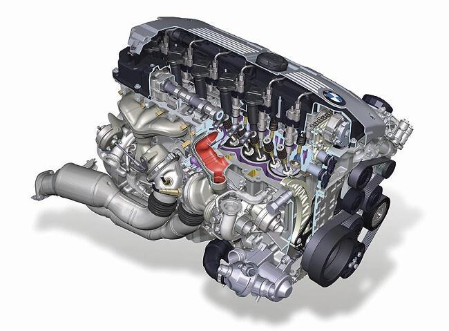 Фото двигателя BMW N54 - 2