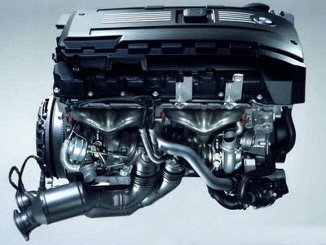 Фото двигателя BMW N54 - 3