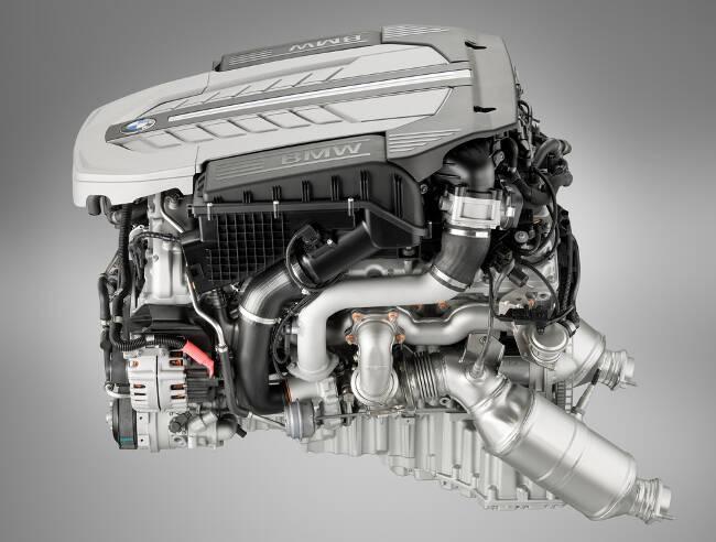 Фото двигателя BMW N74 - 4