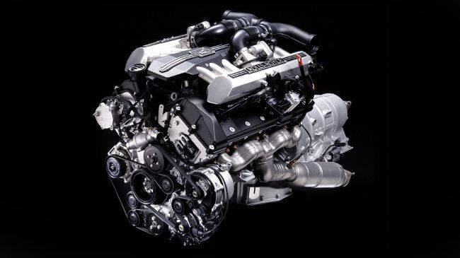 Фото двигателя BMW N74 B66 для Rolls-Royce