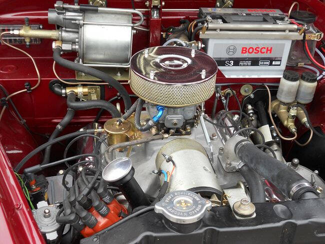 Фото двигателя BMW OHV V8 - 2